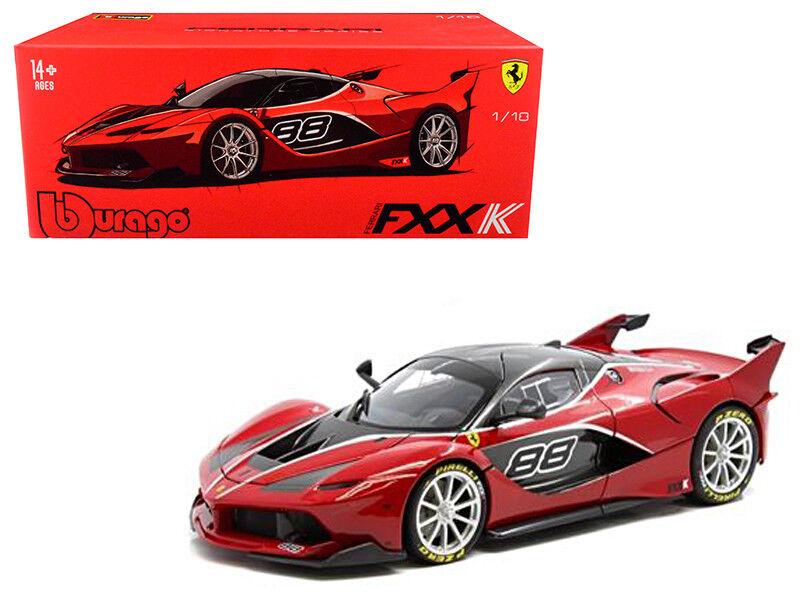 1   18 bburago ferrari fxx k   88 unterschrift serie ein diecast modell rot 18-16907