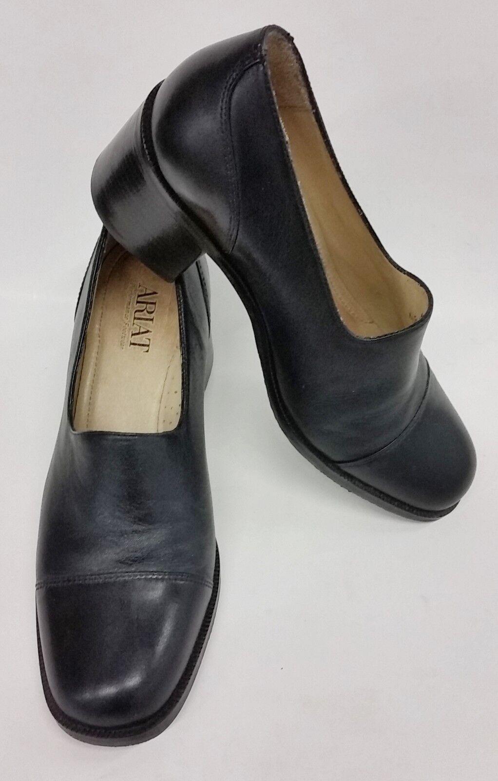 qualità autentica Ariat scarpe Slip-On Block Heels nero Leather donna Dimensione Dimensione Dimensione 5.5 M  risposta prima volta