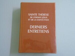 SAINT-THERESE-DE-JESUS-DERNIERS-ENTRETIENS-ED-DECSCLEE-DE-BROUWER-1971