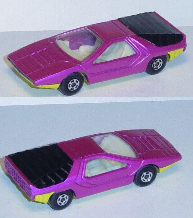 Matchbox 75 Alfa Calabro, verkehrspurpurmetallic, Chassis zinkgelb, innen weiß