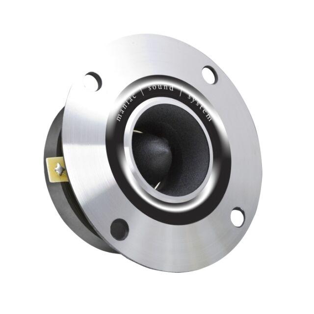33512 Professional Heavy Duty Bullet Tweeter Speaker 200 W 8 Ohm Natural Metal