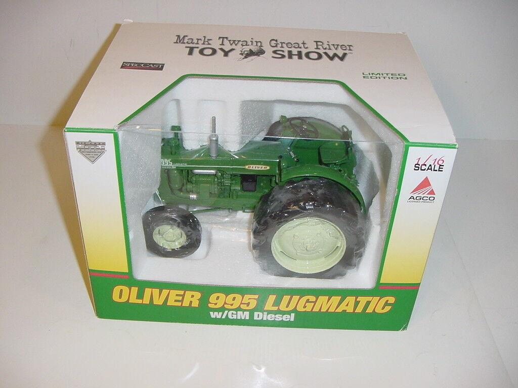 1/16 Oliver alto detalle 995 lugmatic tractor por Speccast Nuevo en Caja Mark Twain Show