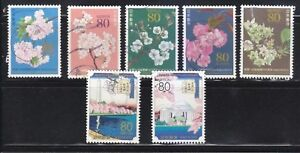 JAPAN-2012-CENTENNIAL-CELEBRATION-OF-GIFT-OF-CHERRY-BLOSSOM-TREE-TO-US-7-STAMPS
