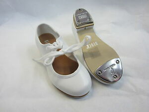 45d8360da bloch 330 timestep pu low heel tap shoes white heel and toe taps ...