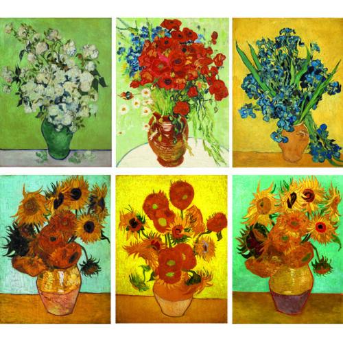 Flowers Vincent Van Gogh Canvas Art Print Oil Painting Wall Decor Multi Sizes
