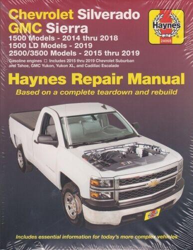 ispacegoa.com 2014-2019 Silverado Sierra Tahoe Yukon Haynes Repair ...