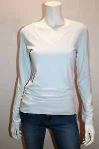 BNWT M/&S Crew Neck T Shirt Pure Cotton 14 Light Blue  Chambray