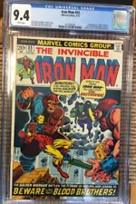 IRON MAN 55 CGC 9.4 NM WP 1ST APP THANOS DRAX STARFOX
