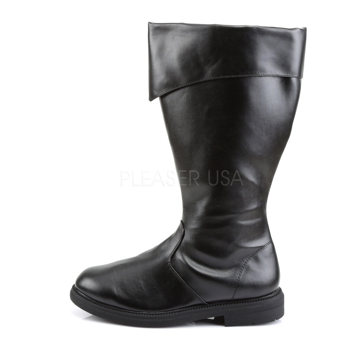 Funtasma Captain Vegi Knee High Costume Pirate Vader Cosplay Boots Mens 8-14
