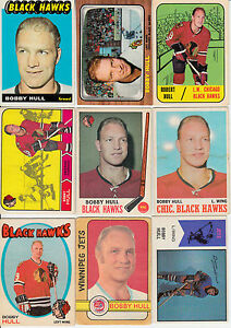 LOT-21-CARTES-DE-BOBBY-HULL-INCLUE-1965-66-TOPPS-59