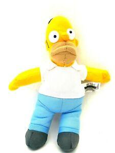 Matt-Groening-The-Simpsons-Homer-Soft-Plush-Character-Doll-Toy-2005-21CM