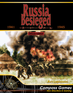 Compass Games Russia Besieged Deluxe Edition NISW Fast Shipping