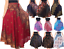 Women-039-s-Gypsy-Skirt-Long-Full-Ankle-Length-Rayon-Gothic-Boho-Chic-Dress
