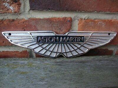 Aston Martin Schild Aluminiumguss Verchromt Dealer Sign Kleine Garage Vac144 Ebay
