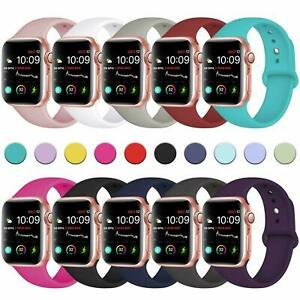 For-Apple-Watch-Series-5-4-3-2-1-38-40-42-44mm-Soft-Silicone-Sports-Band-Strap