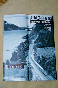 Amtrak-National-Timetable-Spring-1995