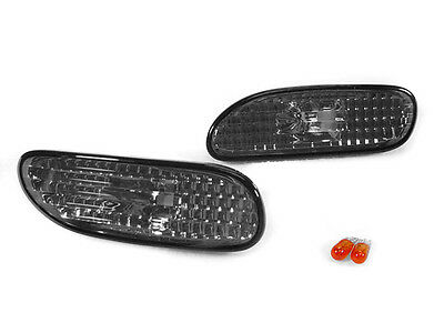 For 1995-1999 Mitsubishi Eclipse//Spyder Side Marker Light Lamp PAIR Left Right