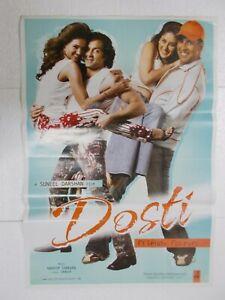 DOSTI-2005-AKSHAY-KUMAR-BOBBY-DEOL-LARA-KAREENA-Rare-Poster-Bollywood-Film