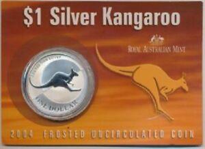 Australia-2004-Kangaroo-Dollar-1oz-UNC-Mint-Pack-Silver-Coin-999