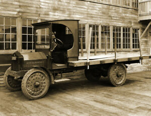 1925-Delivery-Truck-Washington-Vintage-Old-Photo-8-5-034-x-11-034-Reprint