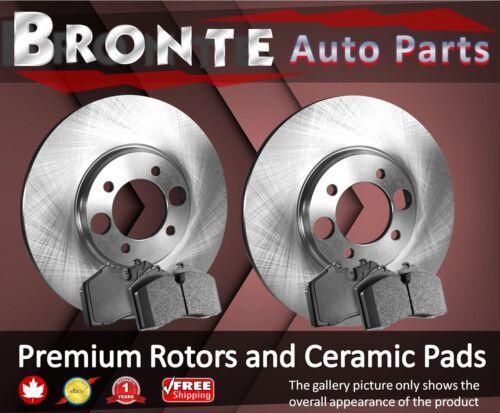 2001 2002 2003 for Pontiac Aztek Disc Brake Rotors and Ceramic Pads FWD Front