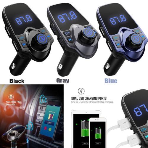 Bluetooth FM Transmitter USB Stick KFZ Car SD AUX Freisprechanlage MP3 Player DE