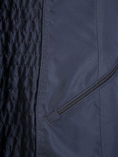Jacke Sommerjacke Damenjacke Leichte Jacke Freizeitjacke marine Gr 56  NEU