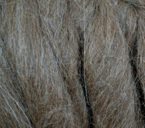 Sehr feines Edeltierhaar vom Alpaka zum Spinnen 50 g Alpaka im Band superfein