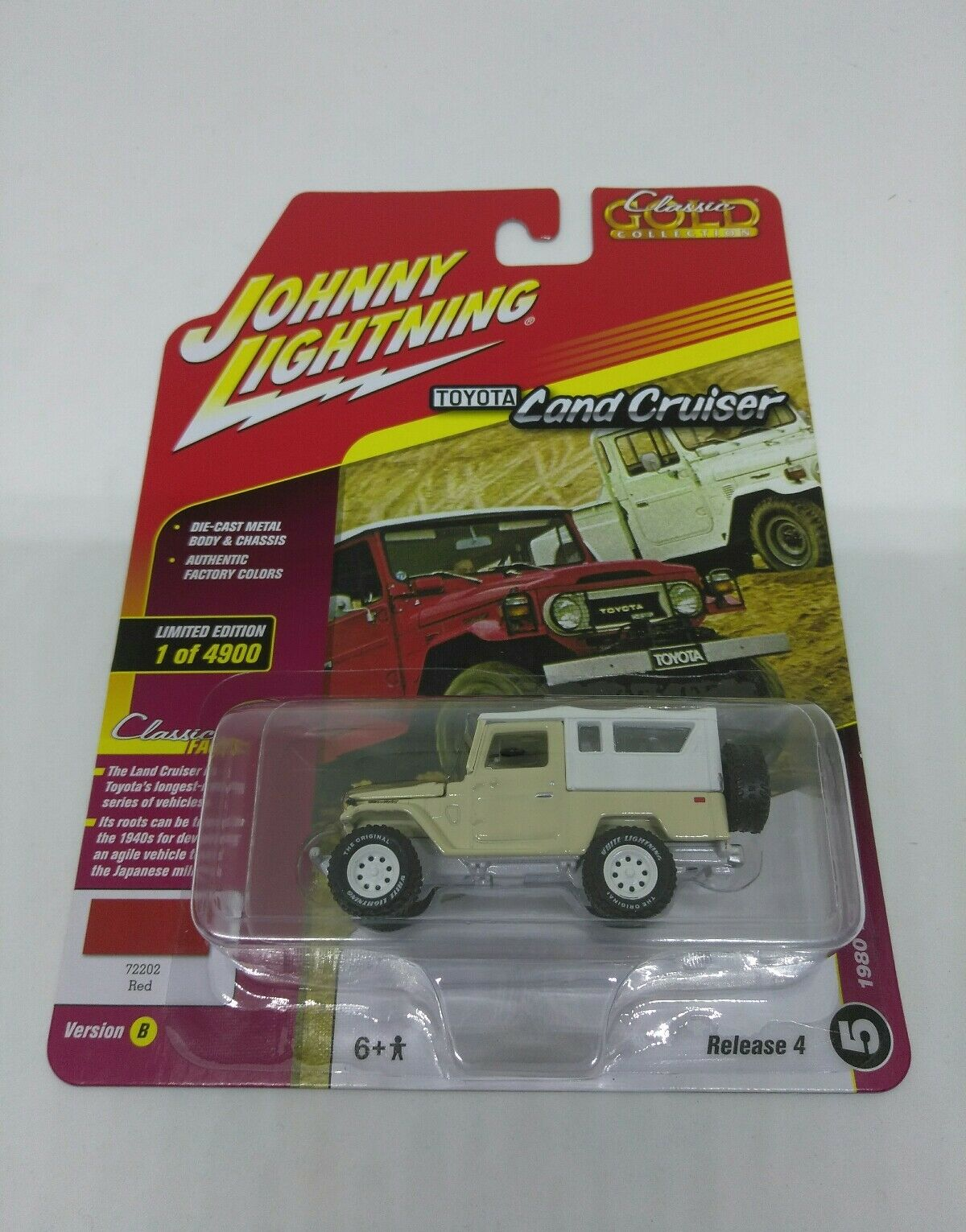 Extrêmement rare JL 1980 TOYOTA LAND CRUISER blanc Lightning CLASSICS or 1OF 100