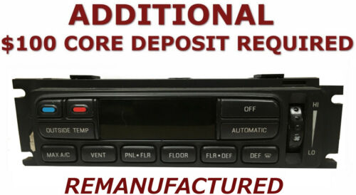 REMAN 2002 2003 Ford F150 A//C Heater Climate Temperature Control />EXCHANGE/<