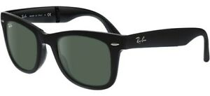 f3b3ed8b69 RAY BAN 4105 50 WAYFARER FOLDING 601S MATTE BLACK FOLDABLE BLACK ...