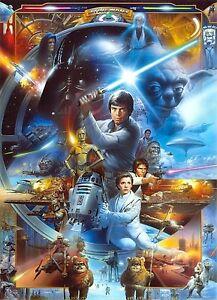 Komar-Star-Wars-Papier-peint-photo-4-441-Luke-Skywalker-collage-184-x-254-cm