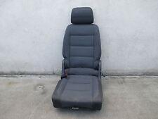 Rücksitz hinten links VW Touran Sitz Ausstattung Stoff ISOFIX anthrazit