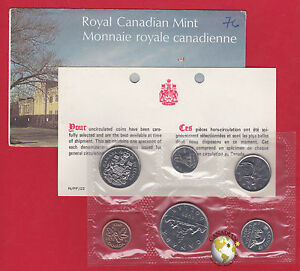 1976 - - Pl Set -  - Canada RCM Proof Like Mint - With COA and Envelope
