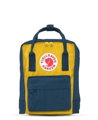 Fog, Blue, Orange, Red, Green, Orchid Fjallraven Kanken Mini Backpacks F23561