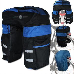 fahrrad gep cktasche satteltasche fahrradtasche rucksack tasche gep cktr ger neu. Black Bedroom Furniture Sets. Home Design Ideas
