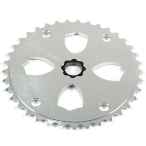 Eighthinch-48-Splined-Sprocket-Chainring-BMX-Freestyle-39t-Silver