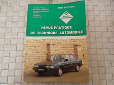 REVUE TECHNIQUE MAZDA 626 (TRACTION) 1600 - 2000 ESSENCE et 2000 DIESEL