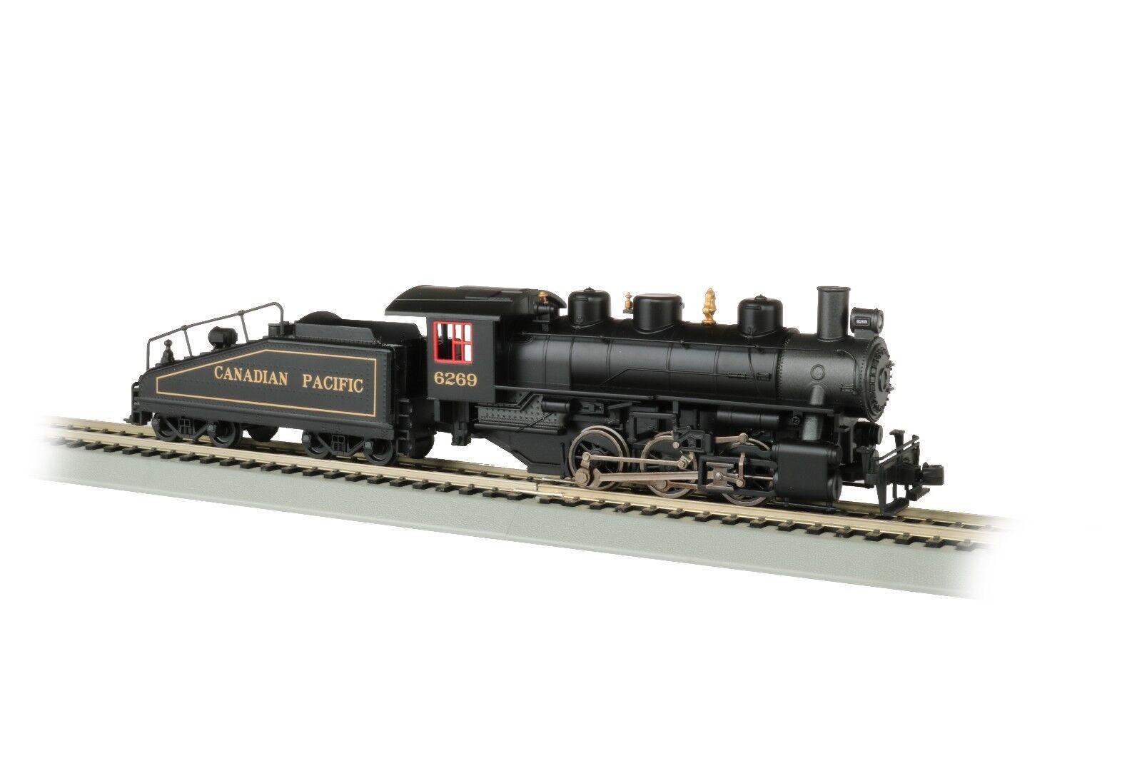 Pista h0-máquina de vapor 0-6-0 Canadian Pacific con función de humo - 50607 nuevo