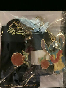 Disney Auction Exclusive P I N S Stitch Tourist And Pin Le 1000 Coconut Drink Ebay
