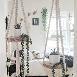 Macrame-Plant-Hanger-Shelf-Handmade-Macrame-Hanging-Shelf