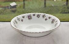 Royal Albert Bone China England Sweet Violets Pattern Serving Bowl 24cm