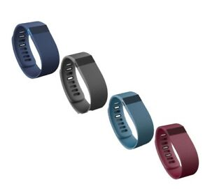 NEW-FITBIT-CHARGE-Wristband-Fitness-Activity-Tracker-Black-Blue-Slate-FB404