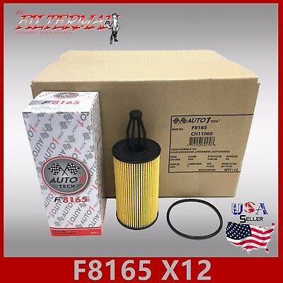 Premium Oil Filter for Mercedes Benz R500 w// 5.0L Engine 2006 2007 Pack of 4