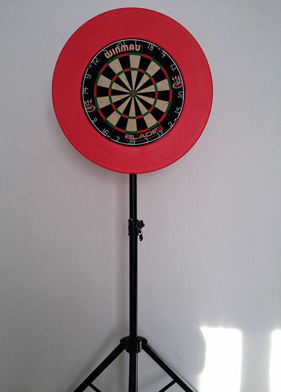 Mobiler Dartständer, Steeldart, Bristle, Dartstand, Dartboardständer Dartboardständer Dartboardständer 9769ae