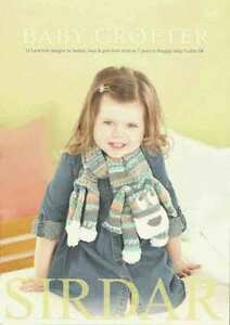 Sirdar-Baby-Crofter-Book-488-12-hand-knit-designs-from-birth-to-7-years