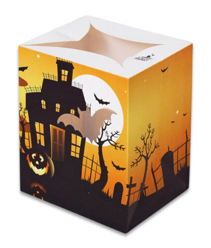 HALLOWEEN CANDLE BAGS LUMINARY BAG TRICK OR TREAT PARTY