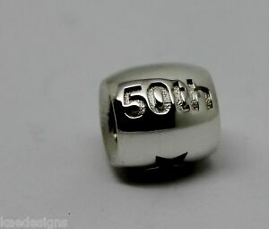 4c66d77a1 Image is loading STERLING-SILVER-50th-or-60th-BIRTHDAY-ANNIVERSARY-CHARM-
