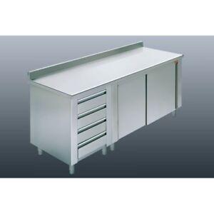 Mesa-de-160x100x85-304-acero-inoxidable-armadiato-planteadas-cajones-RS5916-rest