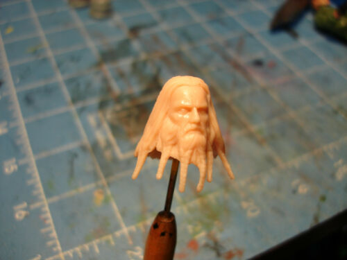 "MH115 Custom Cast Head utiliser avec 3.75/"" Star Wars Gi Joe Acid Rain Action Figures"